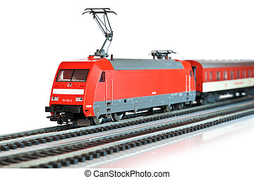 miniatura pociąg
