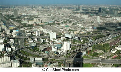 "miniature city - ""miniature city buildings look like a toy""..."