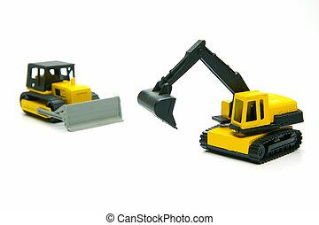 Miniature Construction Toys
