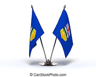 Miniature Flag of Alberta