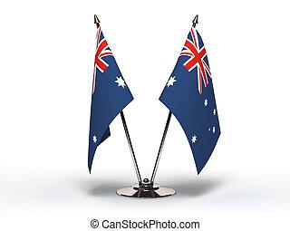 Miniature Flag of Australia (Isolated) - Miniature Flag of...