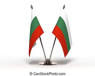 Miniature Flag of Bulgaria (Isolated)