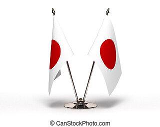 Miniature Flag of Japan (Isolated)