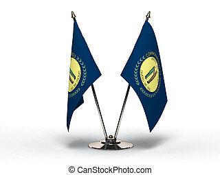 Miniature Flag of Kentucky (Isolated)
