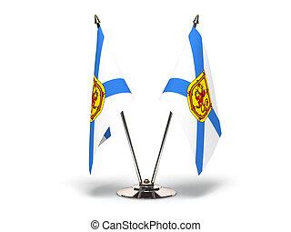 Miniature Flag of Nova Scotia