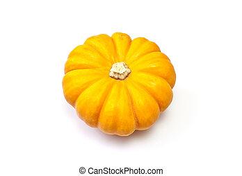Miniature Gold Pumpkin