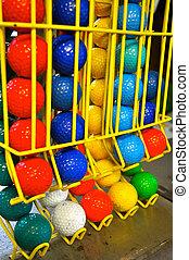 Miniature Golf Balls