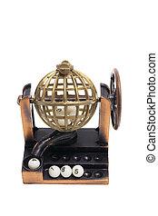 Miniature Lotto Machine