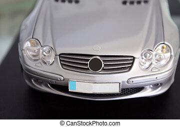 Miniature model car