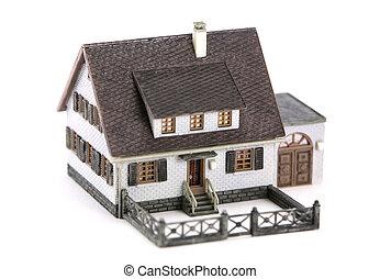 Miniature model home