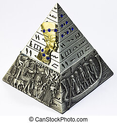 pyramid - miniature model of a pyramid