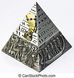 pyramid - miniature model of a pyramid