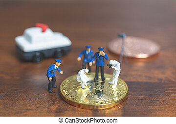 Miniature people : Police And Detective