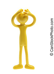 Miniature Rubber Figure