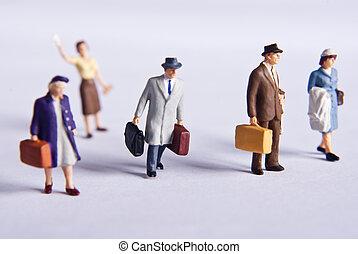 miniature traveler\'s