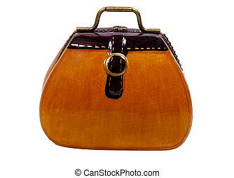 Miniature Vintage Case - Miniature Vintage Style Case / Bag