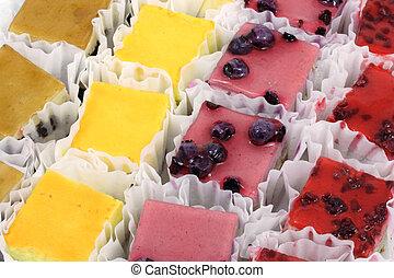 miniatyr, tårtor