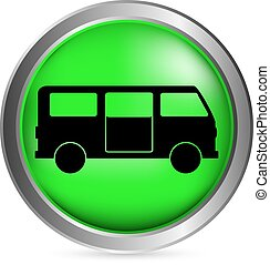 minibus, bottone