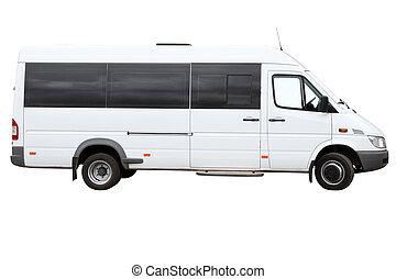minibus, moderne