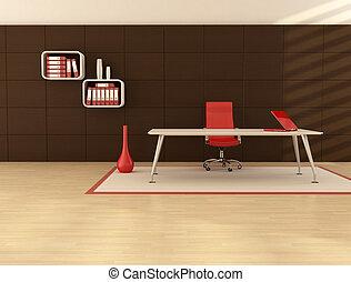 minimaal, kantoorruimte