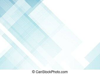 Minimal blue tech abstract background. Vector design