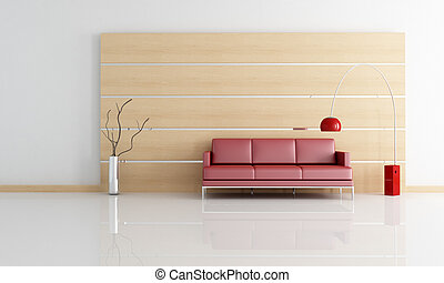 minimal contemporary living room