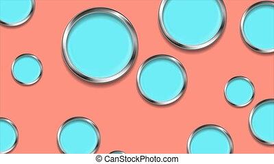 minimal, fond, pastel, résumé, géométrique, mouvement