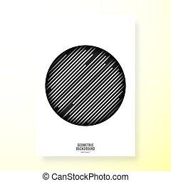 Minimal geometric cover template