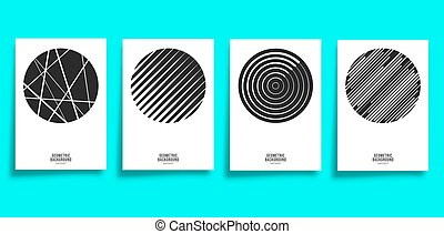 Minimal geometric cover template set