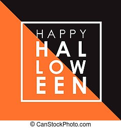 Minimal Halloween background - Minimal design background for...