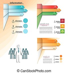 set of templates infographic