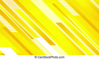 Minimal technology bright yellow video animation - Minimal...