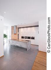 minimalism, デザイン, 台所