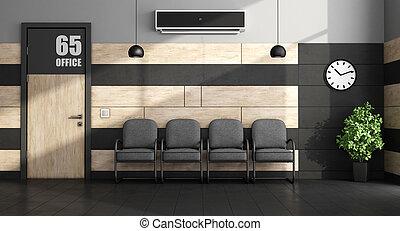minimalist , αίθουσα αναμονής