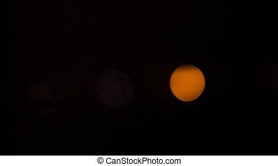 bokeh bright color in the darkness - Minimalist beautiful...