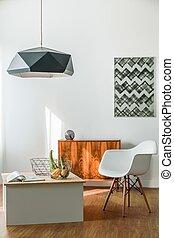 Minimalist creative room