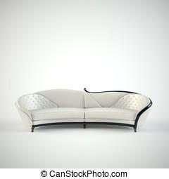 minimalist interior design of living room with sofa