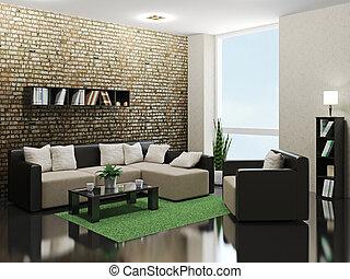 minimalist, livingroom