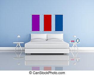 minimalist, schalfzimmer
