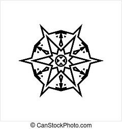 Minimalist Tattoo, Modern Subtle Aesthetic Tattoo, Minimal Modern Discreet Tattoo Vector Art Illustration