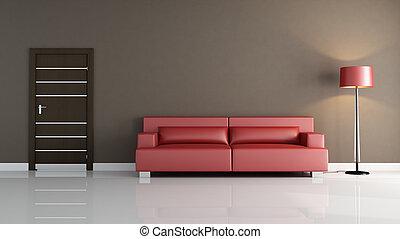 minimalist, wohnzimmer