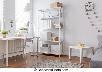 minimalista, bianco, disegno