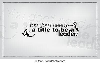 minimalista, de motivación, cartel