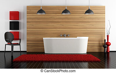 minimalista, fürdőszoba