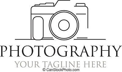 minimalista, fotografia, progetta, logotipo