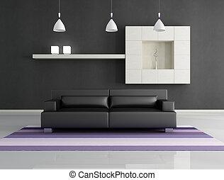 minimalista, interno