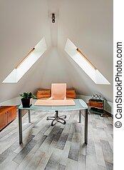 minimalista, tanul, szoba