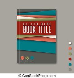 minimaliste, /, aviateur, conception, gabarit, brochure, ...