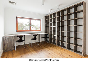 int rieur moderne bureau vide bureaux photographies de stock rechercher photo clip art. Black Bedroom Furniture Sets. Home Design Ideas
