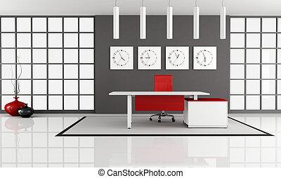 minimaliste, espace bureau